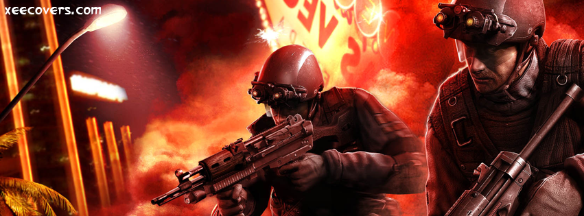 Tom Clancy's Rainbow 6 Patriots FB Cover Photo HD