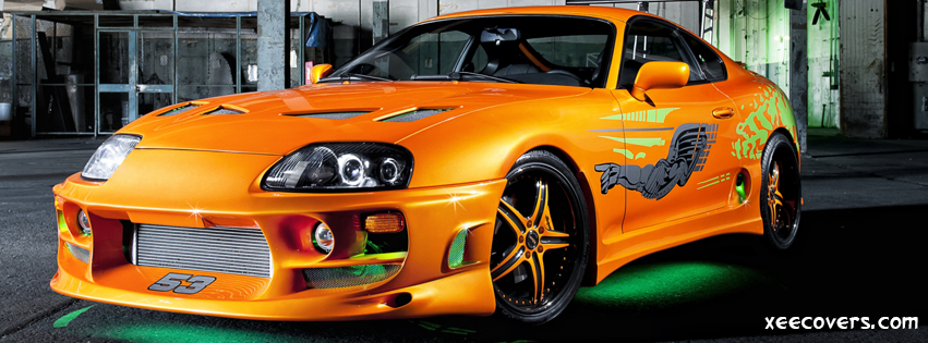 Toyota Supra FB Cover Photo HD