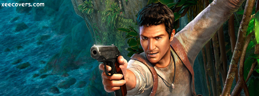 Uncharted Drake facebook cover photo hd