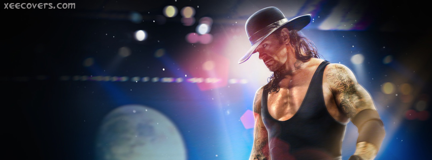 UnderTaker In Shooting FB Cover Photo HD
