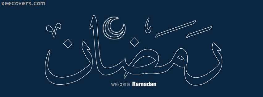 Welcome Ramadan FB Cover Photo HD