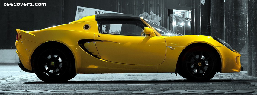 Yellow Mazda FB Cover Photo HD