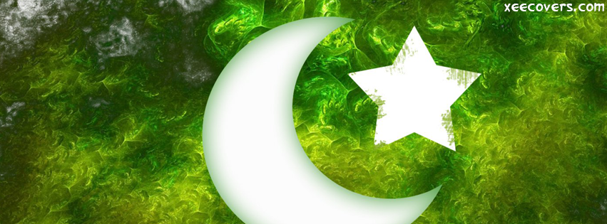 14 August Flag Of Pakistan FB Cover Photo HD