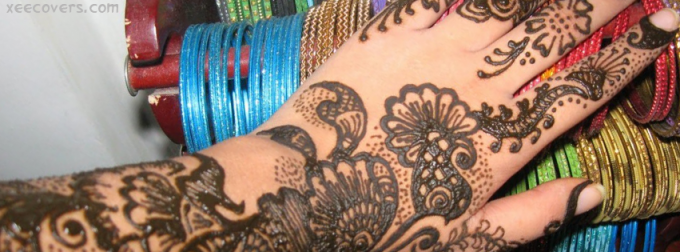 Mehndi Hands Cover Photos : Eid mehndi hands fb cover photo xee covers