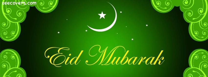 Eid Mubarik (Eid Ka Chaand) facebook cover photo hd
