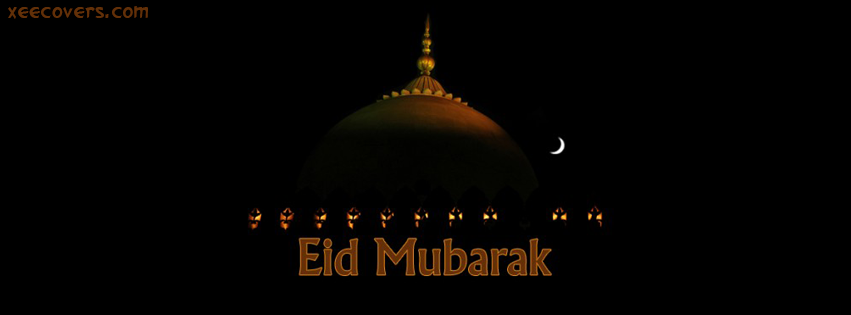Eid Mubarik (Masjid) FB Cover Photo HD