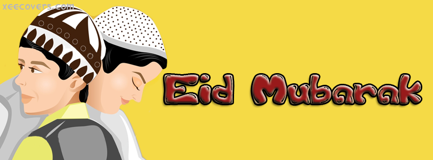 Eid Mubarik To Muslims FB Cover Photo HD