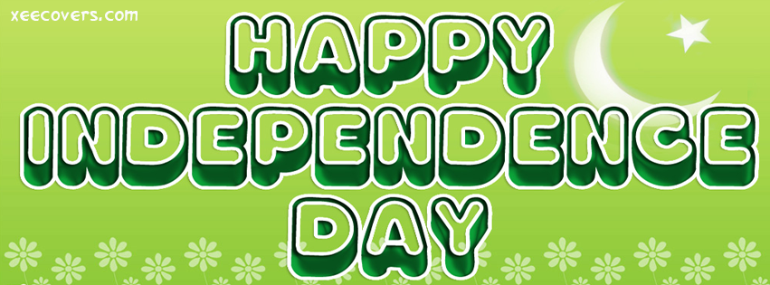 Happy Independence Day Pakistan FB Cover Photo HD