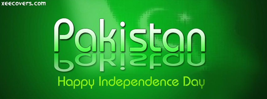 Pakistan Happy Independence Day facebook cover photo hd