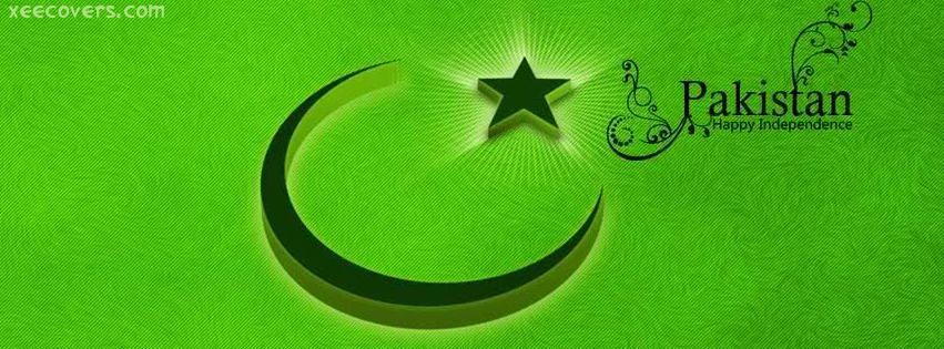 Pakistan Independence Day facebook cover photo hd