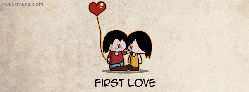 First Love facebook cover photo hd