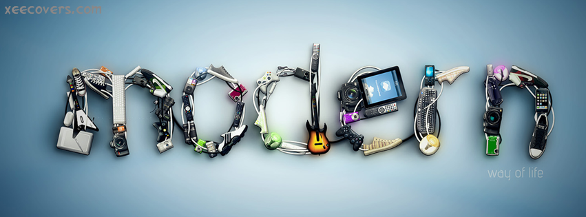 Modern Gadgets FB Cover Photo HD