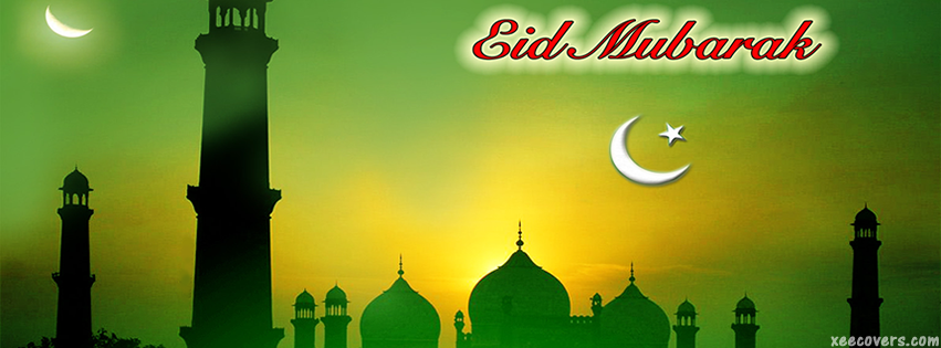 Chaand Raat Mubarik facebook cover photo hd