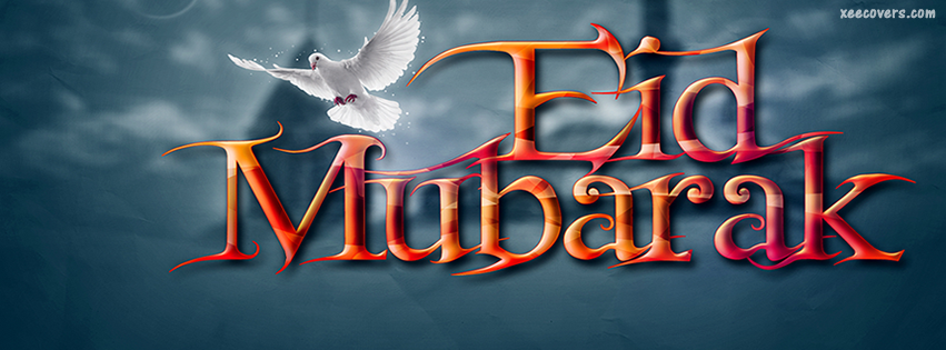 Eid Mubarak (Celebrate Eid with Peace) FB Cover Photo HD