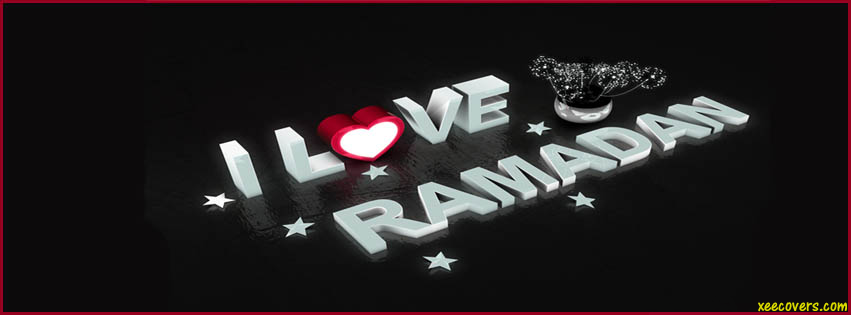 I Love Ramadan FB Cover Photo HD