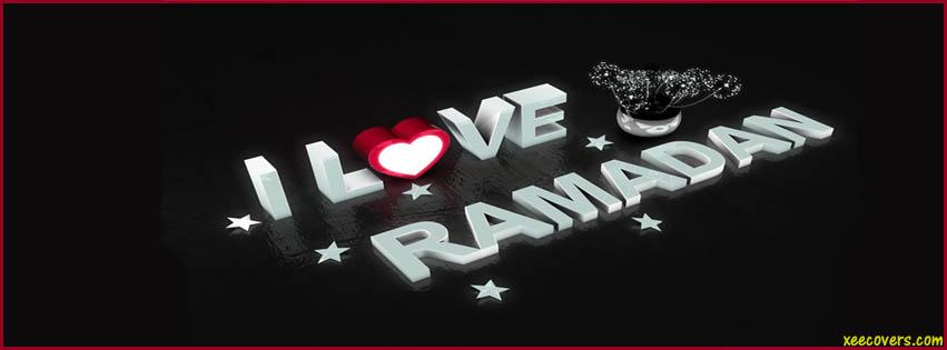 I Love Ramadan FB Cover Photo HD