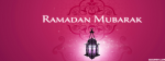 Ramadan Mubarak (Pink Background)