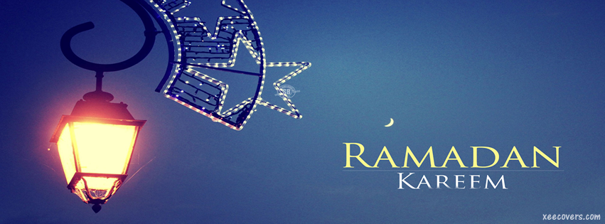 Ramzan Ka Chaand Mubarik facebook cover photo hd