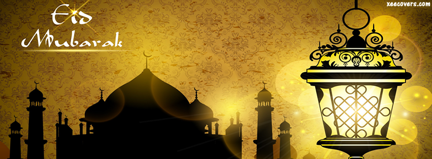 Beautiful Eid Mosque facebook cover photo hd