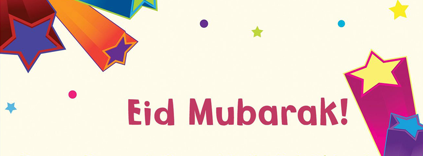 Eid Card for Kids FB Cover Photo HD