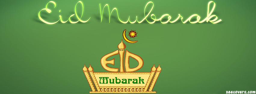 Happy Eid Moon FB Cover Photo HD