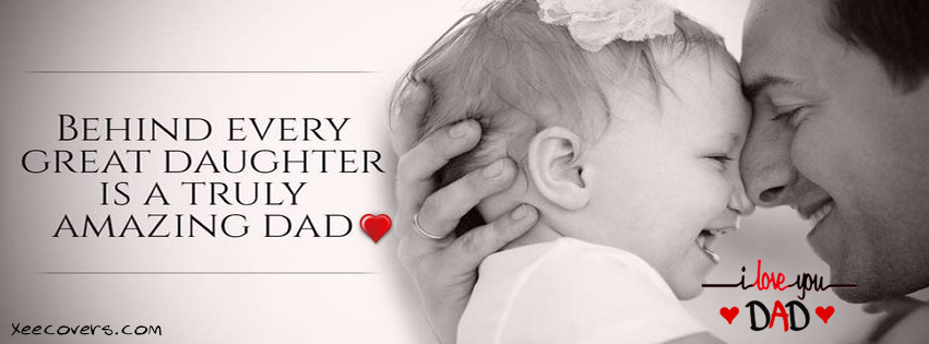 I love you Dad fb image father day FB Cover Photo HD