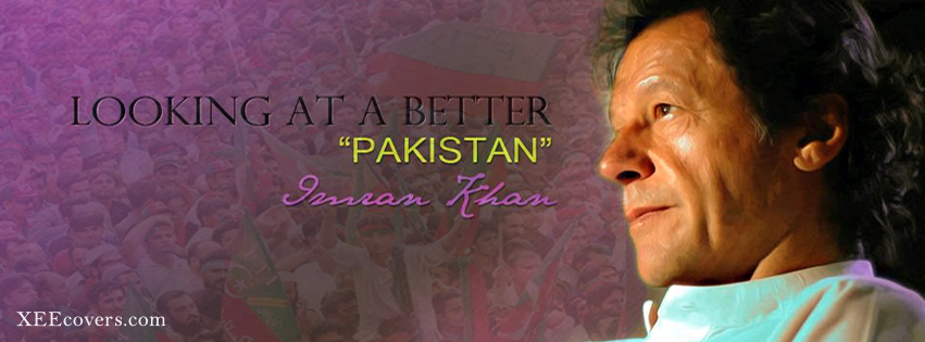 loock at Imran khan pti facebook cover photo hd