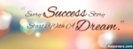 Success Quotes Facebook Cover