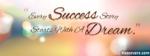 Success Quotes Facebook Cover
