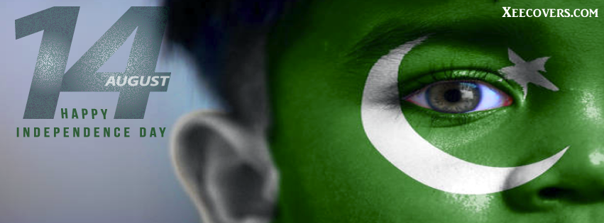 Face Paint 14 August Independence Day FB Cover Photo HD