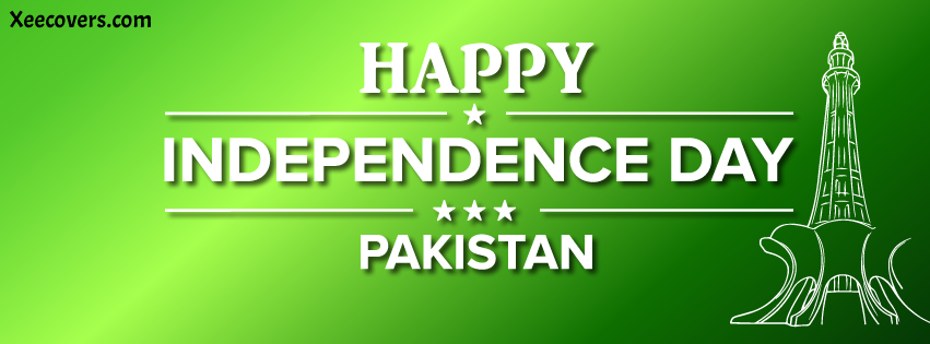 happy Independence Day 14 August FB Cover Photo HD