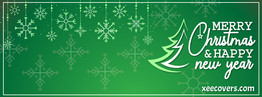 Happy Merry Christmas FB Cover Photo HD