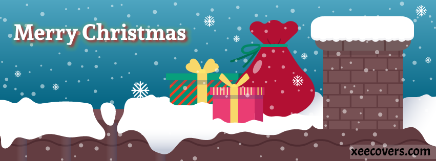 Happy Merry Christmas facebook cover photo hd