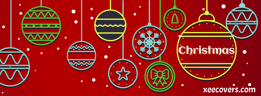 Merry Christmas And Happy New Year facebook cover photo hd