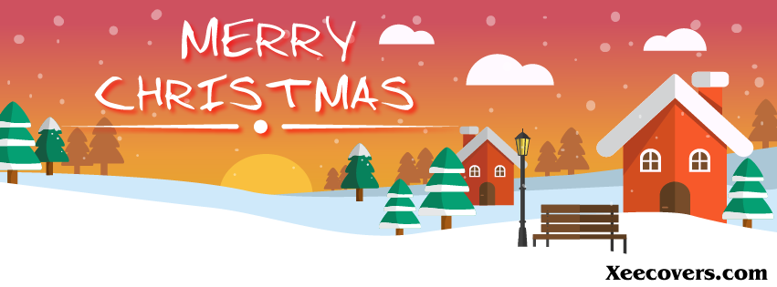 Merry Christmas FB Cover Photo HD